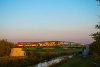 A MÁV-START 117 239 Sióvölgy és Siójut között, a Sió hídján