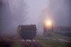 A Csömödéri Erdei Vasút C50 402 Csömödér ÁEV állomáson