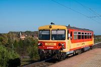 A MÁV-START 117 319 Nagyrákos megállóhelyen
