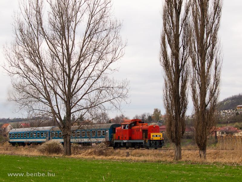 A MÁV-Trakció Zrt. 478 032 (ex-M47 2032) pályaszámú Dácsiája Nemtinél fotó