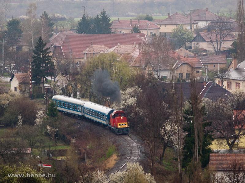 The MÁV-Trakció Zrt.'s 478 032 (ex-M47 2032) at Recsk-Parádfürdő station photo