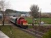A M�V-Trakci� Zrt. 478 032 (ex-M47 2032) p�lyasz�m� D�csi�ja M�traderecske meg�ll�helyn�l