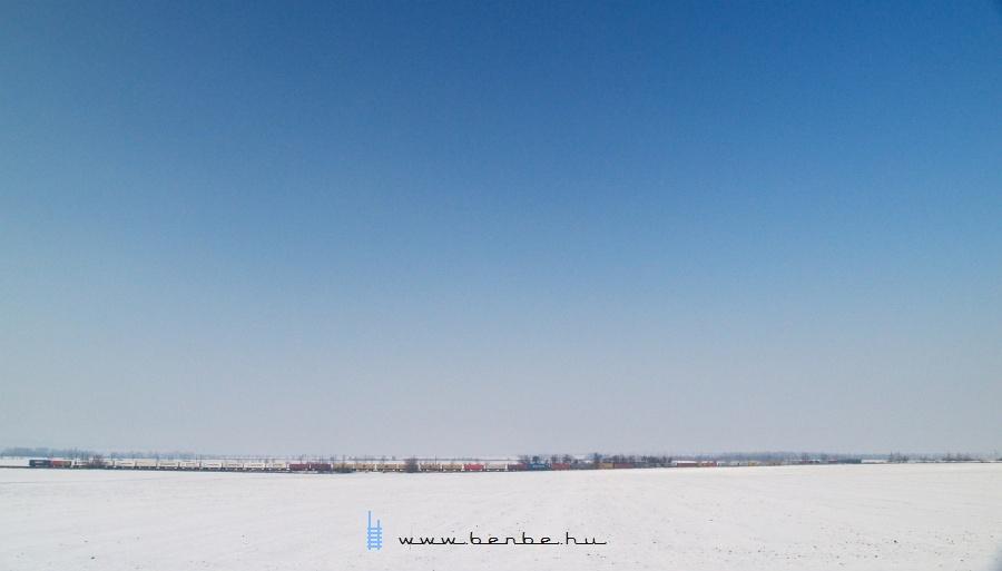 Konténervonat Szilivel Pettend és Baracska között fotó