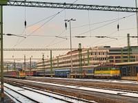 V43 3242 és V43 329 Budapest Déli pályaudvaron