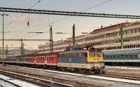 The V43 3242 at Budapest D�li