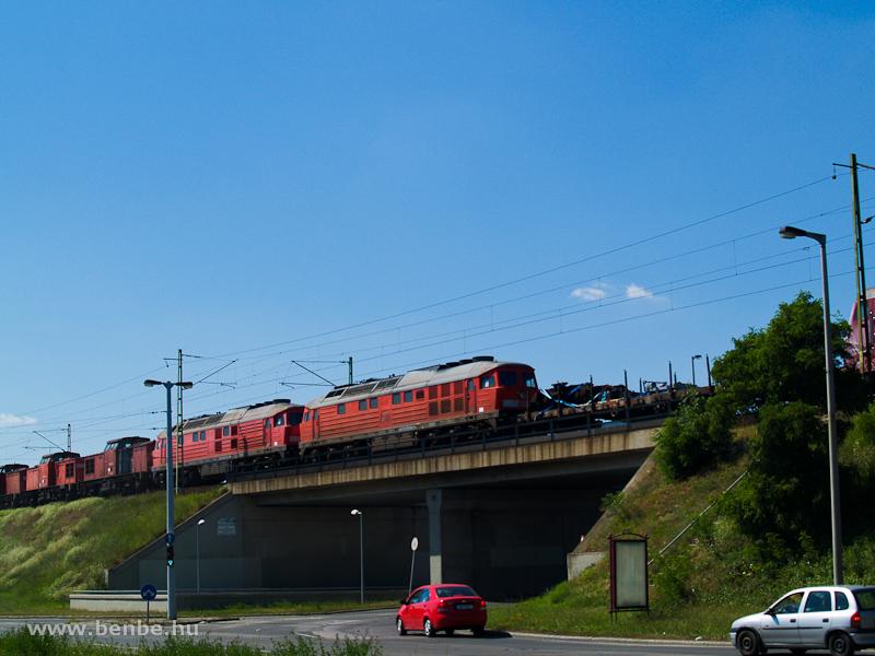 DB 232-esek úton Romániába fotó