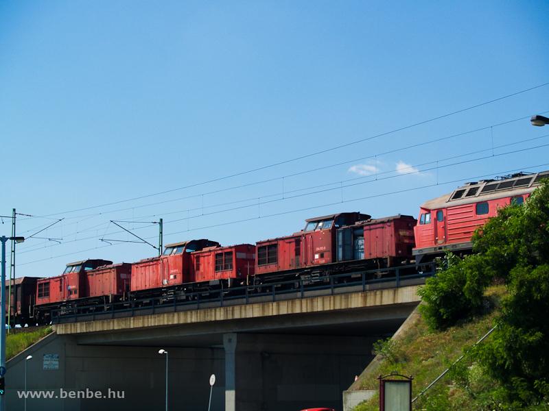 DB 204-esek úton Romániába fotó