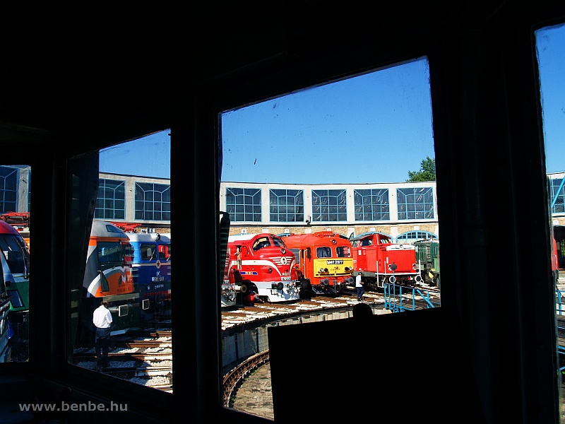 Locomotives seen from inside the Kandó photo