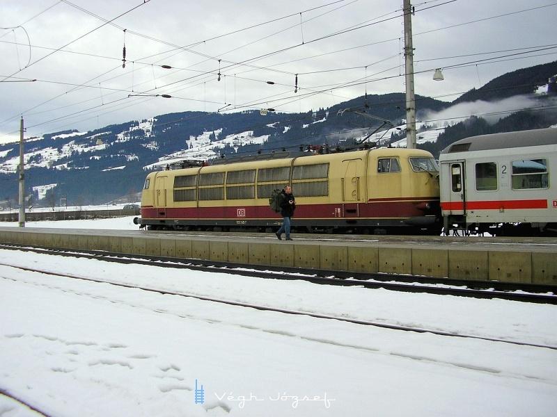 A DB 103 245-7 Kirchberg in Tirolban fotó