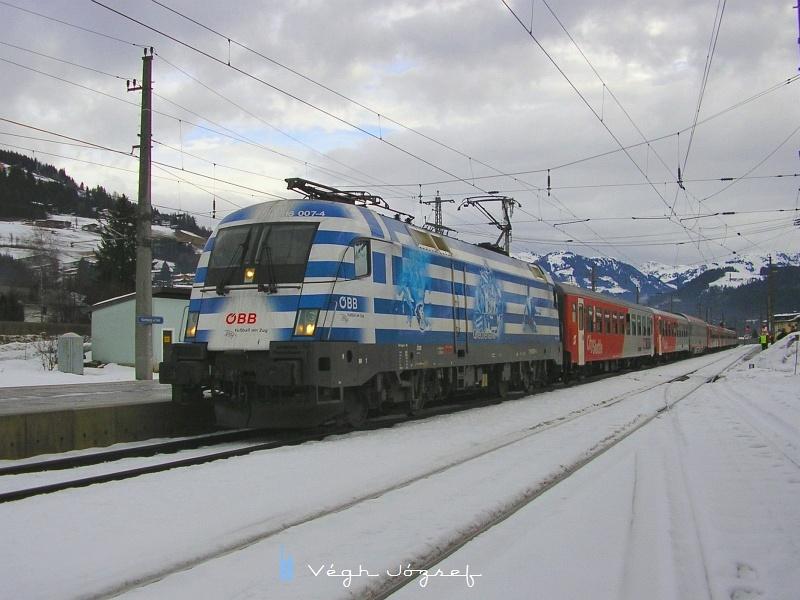 """Végül még egy ingavonat a Hanenkammrennen-ről, a 1116 007-4 vontatta """"Görög"""" mozdonnyal fotó"""
