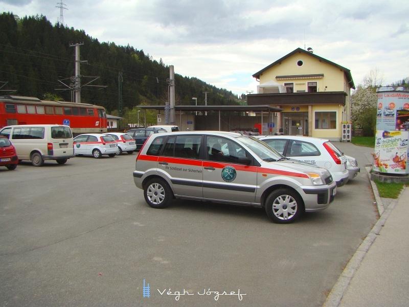 Hopfgarteni parkoló fotó
