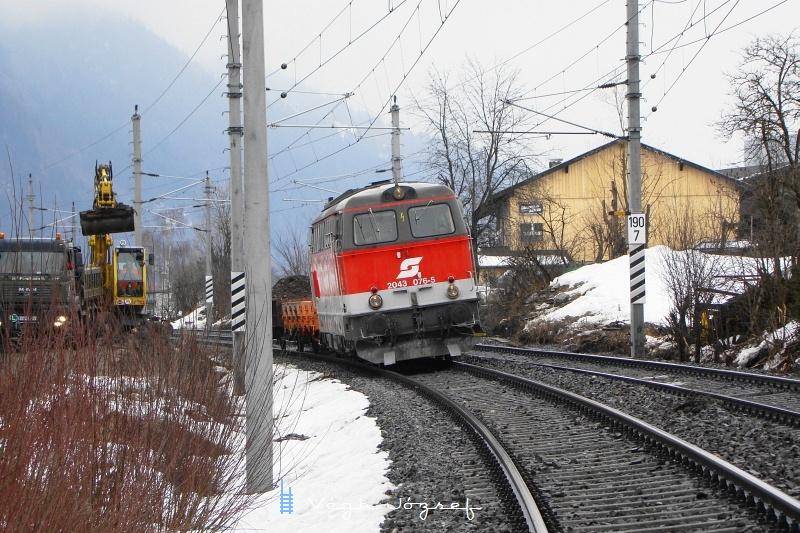 Az ÖBB 2043 076-5 Wörgl határában fotó