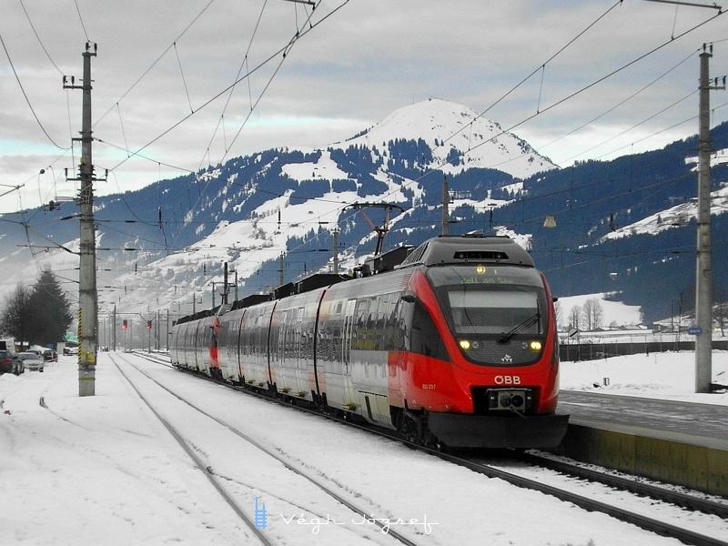 Az ÖBB 4024 032-7 pályaszámú Talent Kirchber in Tirol állomáson fotó