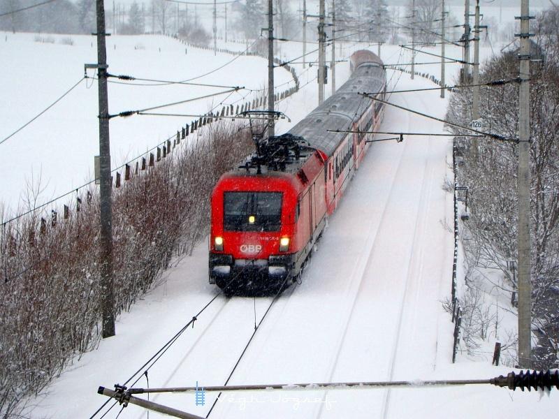 Az ÖBB 1116 270-8 a Giselabahnon fotó
