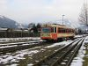 The ÖBB 5090 002-2 of the Pinzgauer Lokalbahn near Zell am See