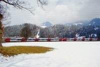 Two ÖBB Talents between Wörgl-Bruckhausel and Hopfgarten