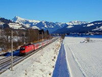 The �BB Taurus 1116 057-9 near Kirchberg in Tirol
