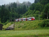 An ÖBB Talent trainset near Windau