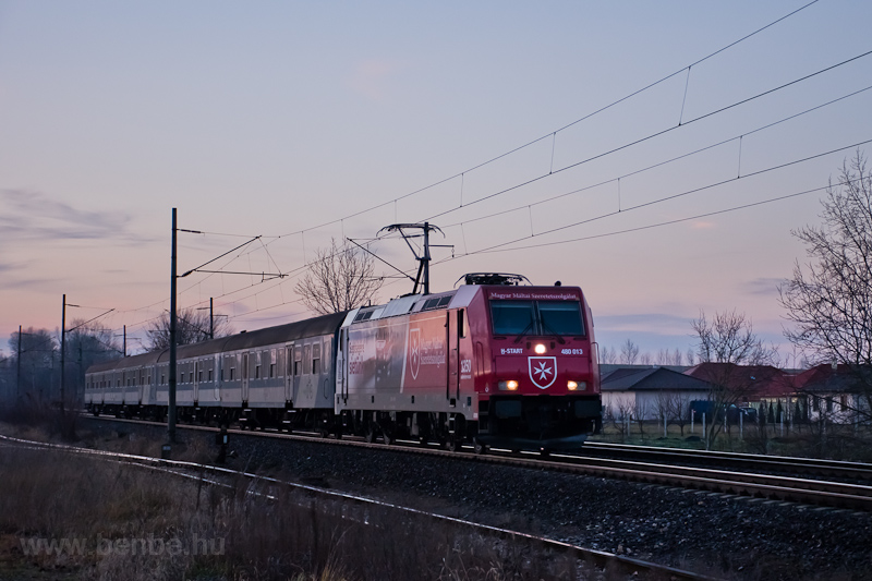The MÁV-START 480 013 seen  photo