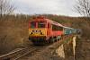 A MÁV-START 418 324 Eplény és Veszprém között