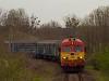 A MÁV-Trakció M41 2157 Bakonyszentlászló és Vinye között
