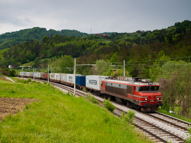 A SŽ 363 024 pályaszám fotó