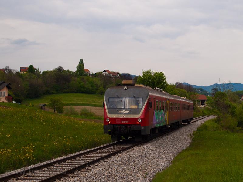 A SŽ 814 126 Šent fotó