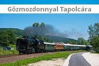With a steam locomotive<br />to Tapolca