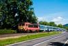 A MÁV-START 418 330 Badacsonytomaj és Badacsony között