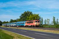 A MÁV-START 418 334 Káptalanfüred és Alsóörs között