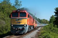 A MÁV-START 628 265 Balatonfűzfő és Balatonalmádi között