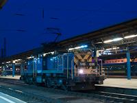 A M�V-TR V46 036 p�lyasz�m� villanymozdonya Budapest-Keleti p�lyaudvaron