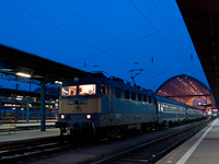 The V43 1118 at Budapest-Keleti