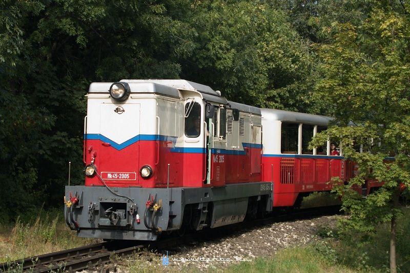 Mk45 2005 a régi Normafa megállóhelyen fotó