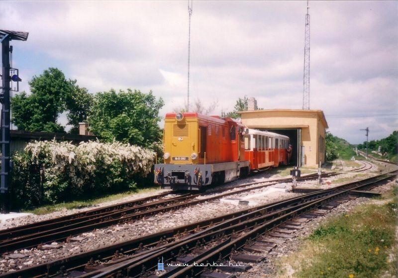 Mk45 2002 Széchenyi-hegy állomáson fotó