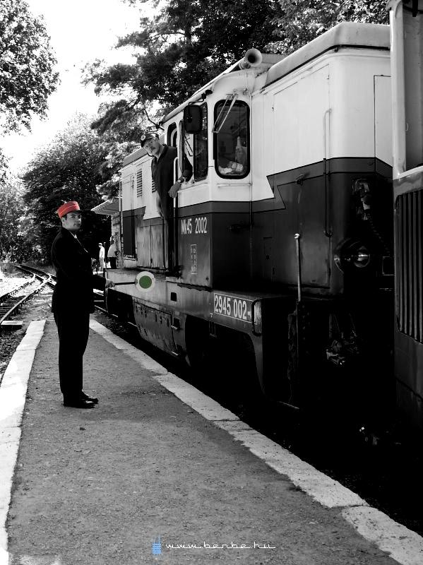 Vonatot menesztek János-hegyen fotó