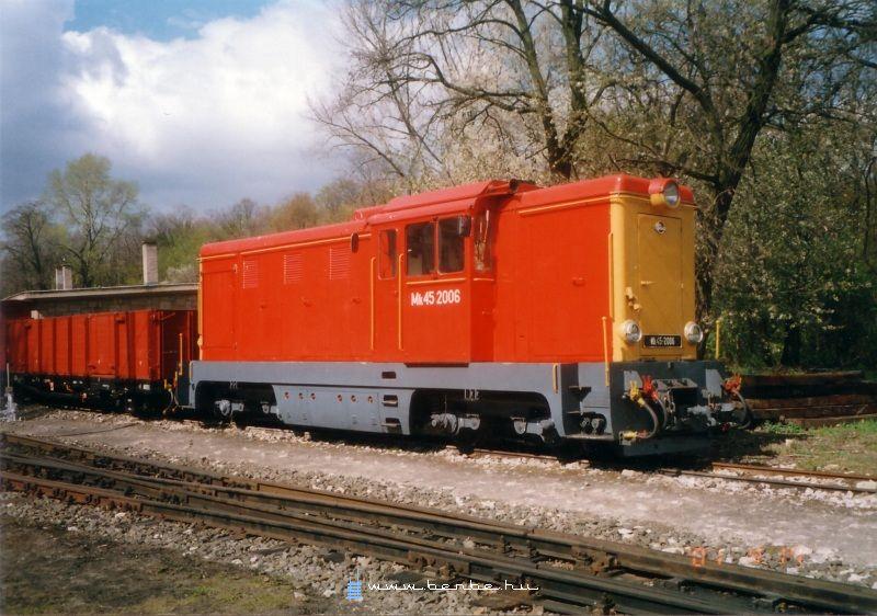 Mk45 2006 a Gyermekvasút fûtõházában fotó