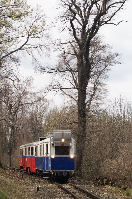 Az ABamot 2 nosztalgia motorkocsi Csillebérc és Virágvölgy között fotó