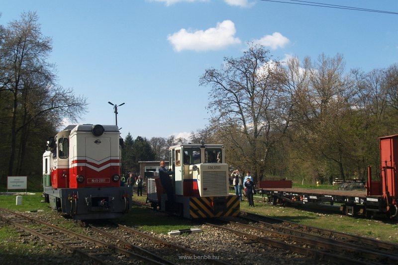 A C50,3703 a vasút tényleg legkisebb személykocsijával fotó