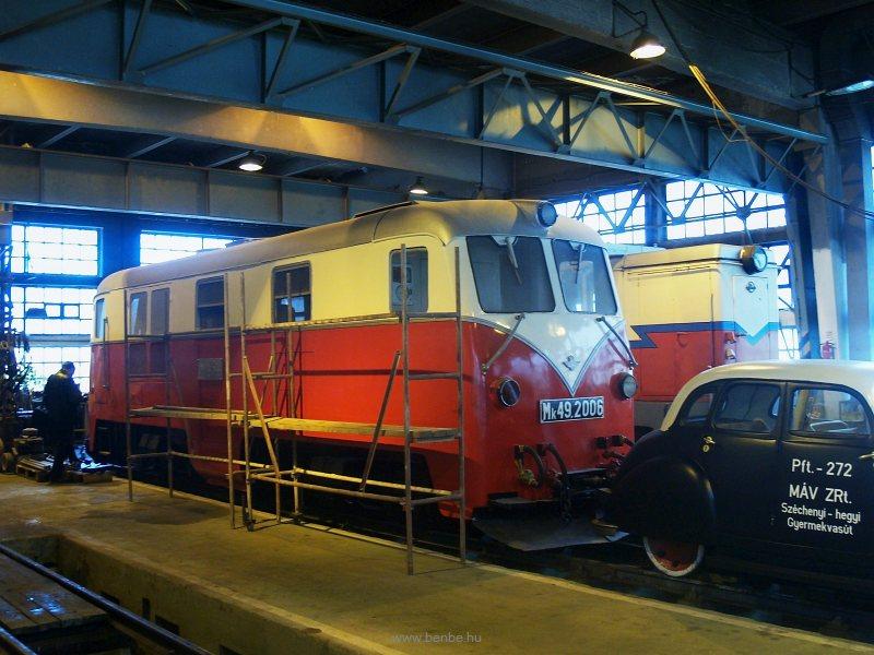 A megőrzött és felújítás alatt álló Mk49,2006 Kisvakond Hűvösvölgyben fotó