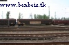 A freight train entering Ferencvros yards