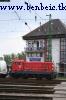 M44 518 Ferencvárosban, a gyomírtó szerelvény élén