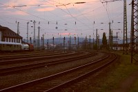 Ferencváros a naplementében