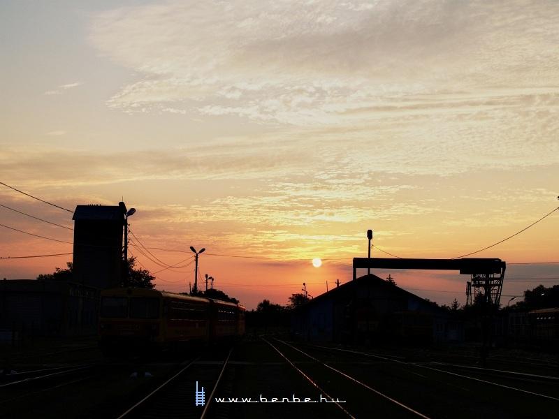Napkelte Balassagyarmaton fotó