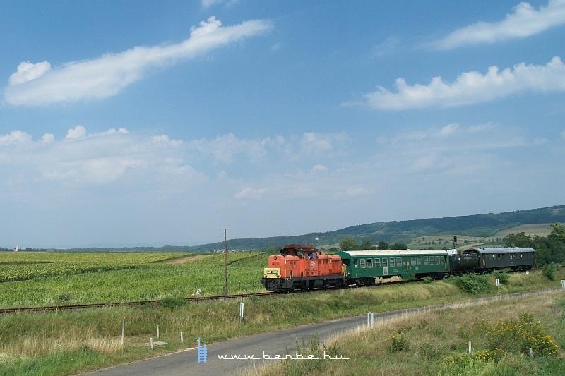 M47 2023 Magyarnándor állomásra érkezik fotó
