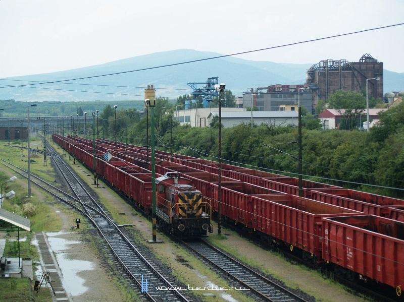 Utunkat a Mátrai Erőmű teherpályaudvarán fejeztük be, a képen A25-022 fotó