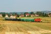 The M47 2032 is pulling the weedkiller train near Hugyag, towards Sz�cs�ny