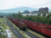 The A25-022 at the freight station of the M�trai Erőmű power plant