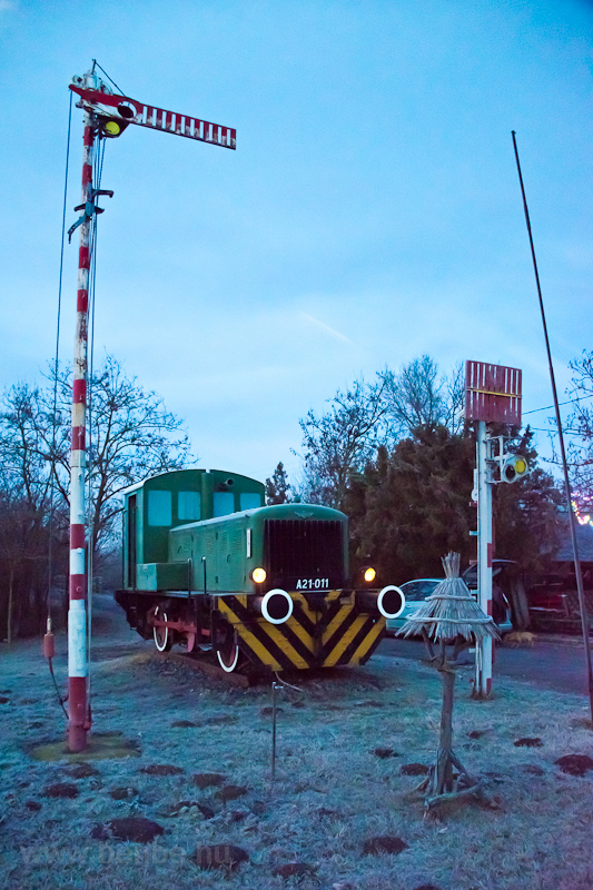 The industrial shunter A21  photo