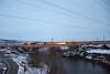 A CFR Calatori 40 0680-1 <q>Tricolor</q> Apahida Halta és Nemeszsuk (Jucu, Románia) között a Szamos folyó hídján